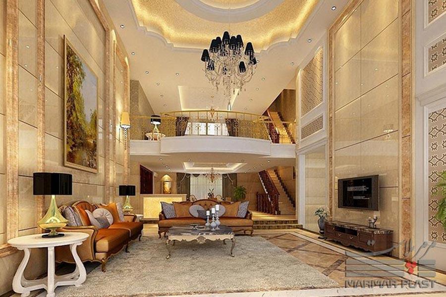 نمونه لابی هتل